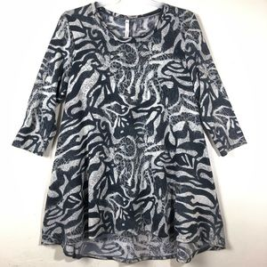 NY COLLECTION TUNIC TOP